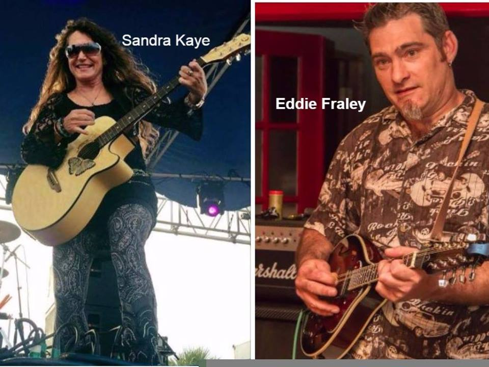 Sandra Kaye and Eddie Fraley